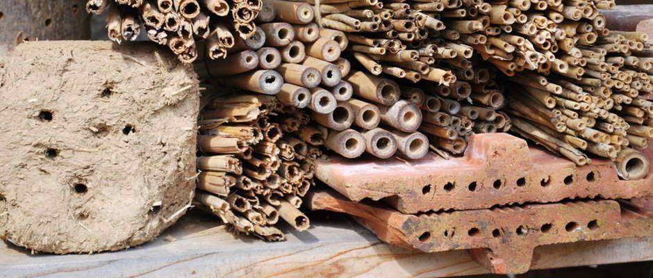 Prächtig Insektenhotel Füllung - Welche Materialien gehören in ein @SZ_79